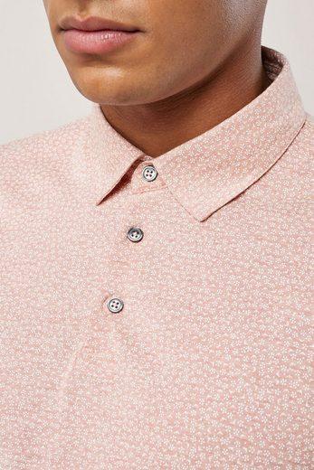 Next Poloshirt mit geometrischem Muster