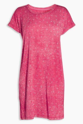 Next Langes T-Shirt in Ausbrenner-Optik