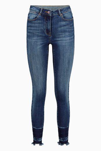 Next Skinny-Jeans mit unversäubertem Saum