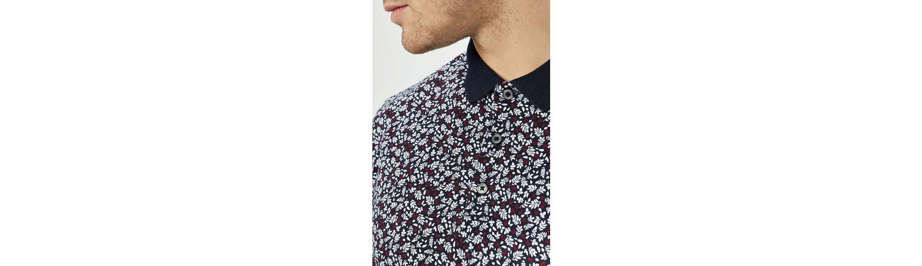 Next Poloshirt mit zartem Blumenmuster Footlocker Abbildungen Günstigen Preis xvdcM