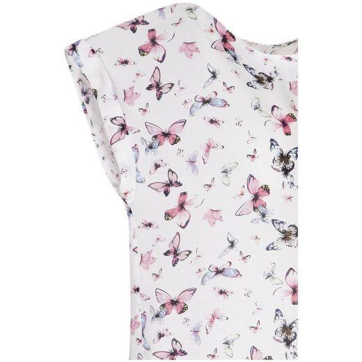 seidensticker Shirtbluse Schwarze Rose, Rundhals
