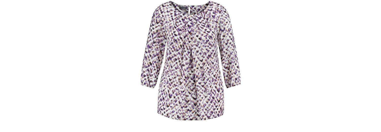 Samoon Bluse 3/4 Arm 3/4 Arm Bluse mit Print Billig Verkaufen Mode-Stil Billig Verkauf Erkunden Nett wArTcsI8YU