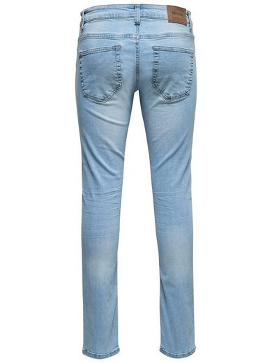 Only & Sons Loom L Blue Slim Fit Jeans