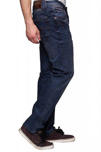 Rusty Neal Jeans mit dezentem Used-Look