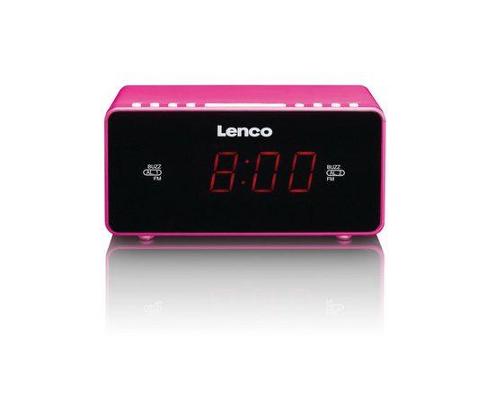Lenco Radiowecker mit Sleeptimer & Schlummerfunktion »CR-510«