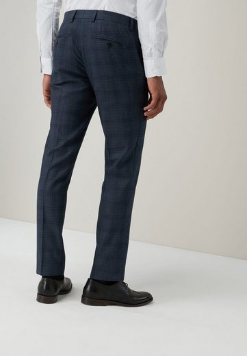 Next Tailored-Fit Anzug mit Karomuster: Hose