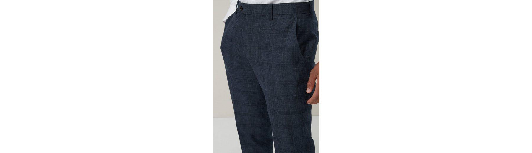 Next Tailored-Fit Anzug mit Karomuster: Hose Verkauf Wie Viel 76rTnJV5