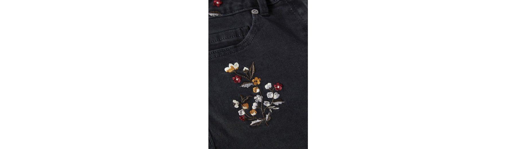 Next Shorts mit Blumenstickereien Günstig Kaufen Erschwinglich CqVDBh