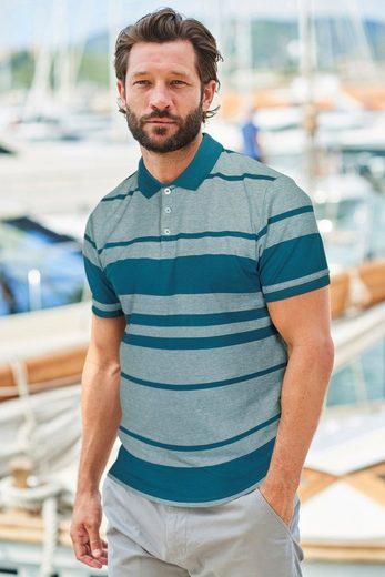 Next Striped Oxford Polo Shirt