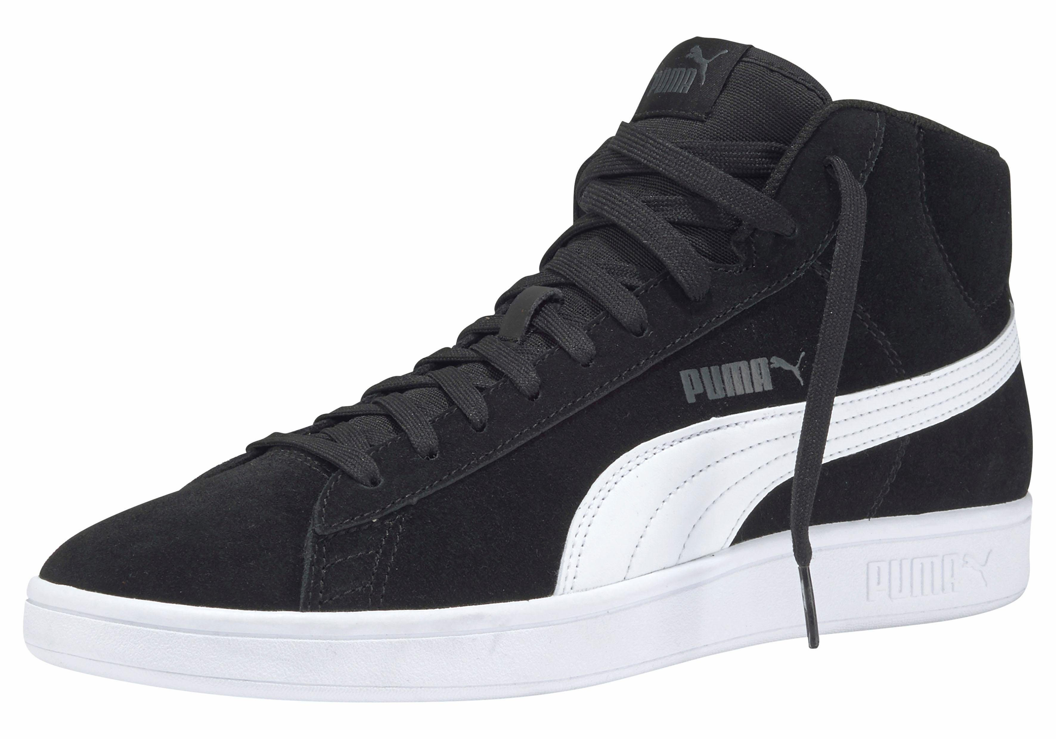 PUMA »Smash v2 Mid SD« Sneaker, Weiches Obermaterial aus Synthetik online kaufen | OTTO