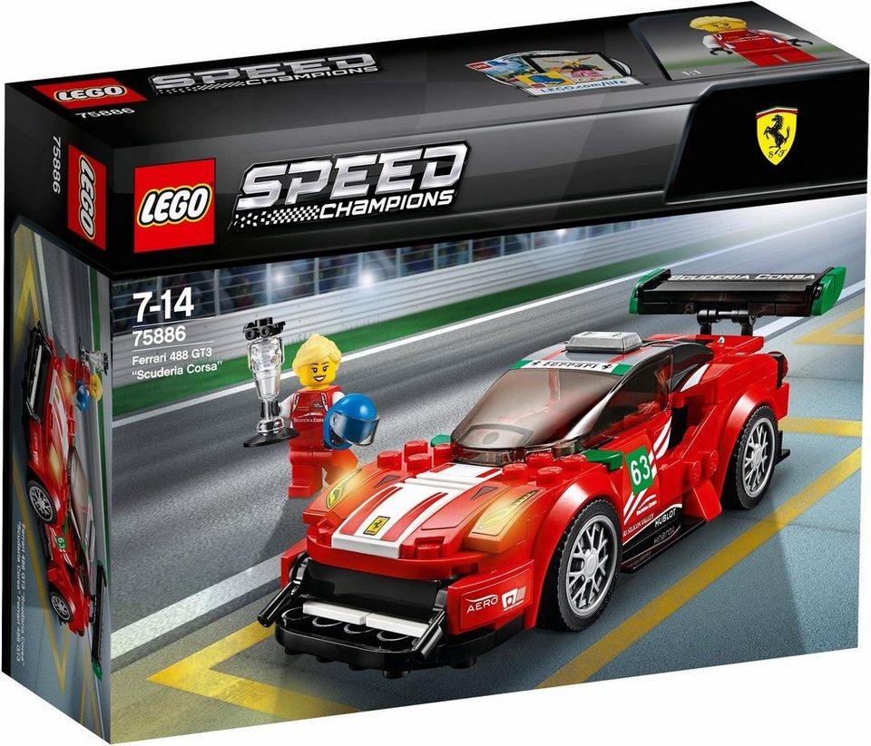 LEGO® Ferrari 488 GT3  Scuderia Corsa  (75886),  LEGO® Speed Champions  online kaufen