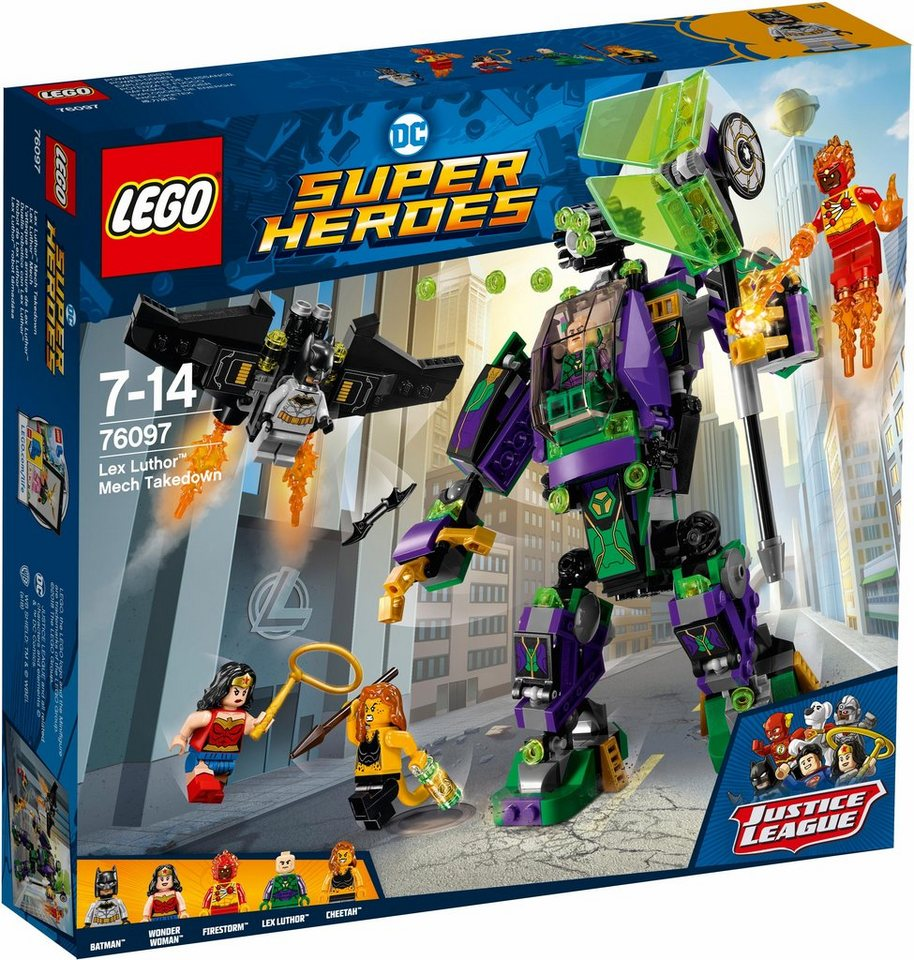 LEGO® Lex Luthor™ Mech (76097),  LEGO® DC Comics Super Heroes  online kaufen