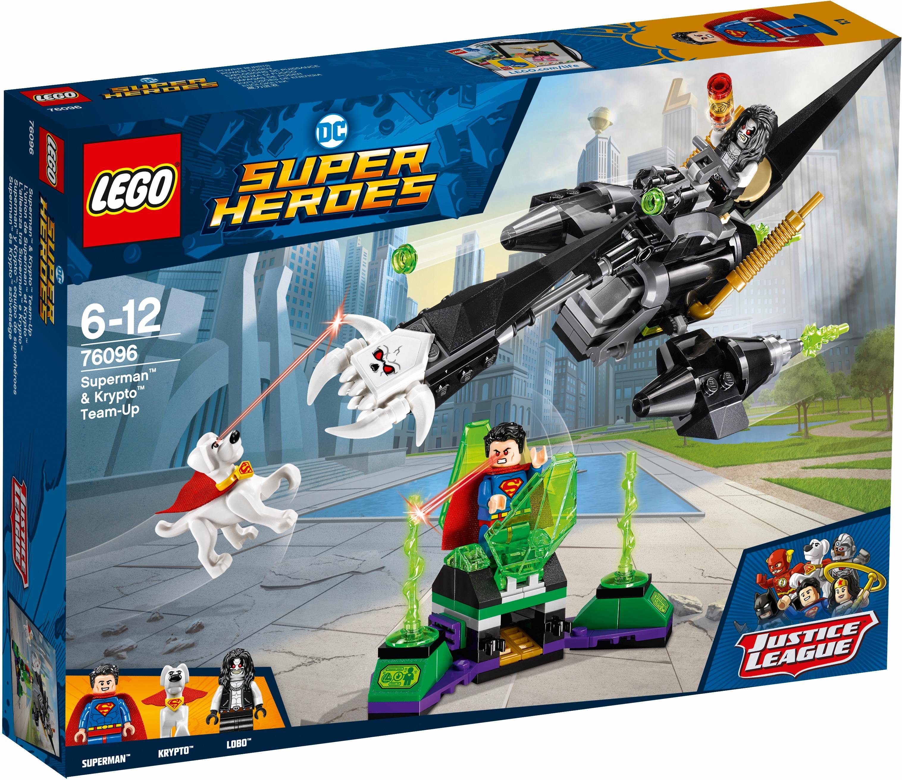 LEGO® Superman™ & Krypto™ Team-Up (76096), »LEGO® DC Comics Super Heroes«