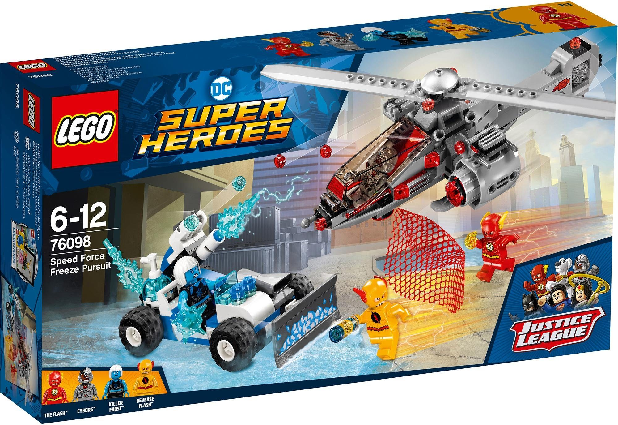 LEGO® Speed Force Freeze Verfolgungsjagd (76098), »LEGO® DC Comics Super Heroes«