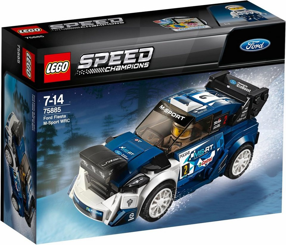 LEGO® Ford Fiesta M-Sport WRC (75885),  LEGO® Speed Champions  online kaufen
