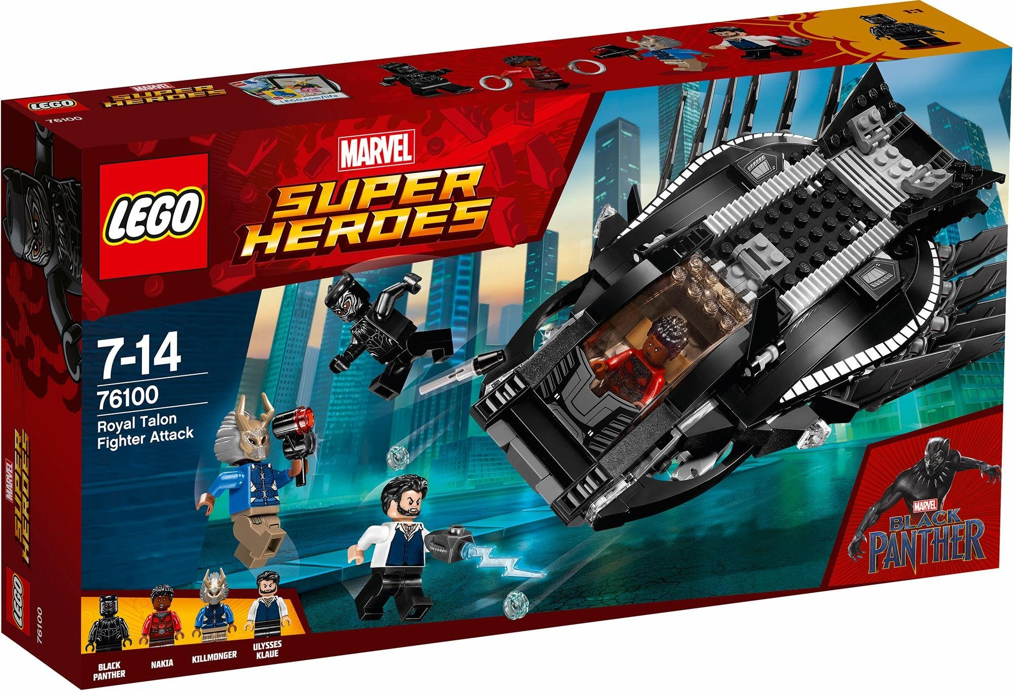 LEGO® Royal Talon Attacke (76100), »LEGO® Marvel Super Heroes«