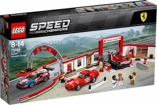 LEGO® Konstruktionsspielsteine »Ferrari Ultimative Garage (75889), LEGO® Speed Champions«, (841 St)