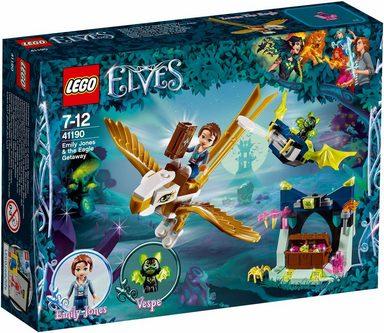 LEGO® Konstruktionsspielsteine »Emily Jones und die Flucht auf dem Adler (41190), LEGO® Elves«, (149 St)