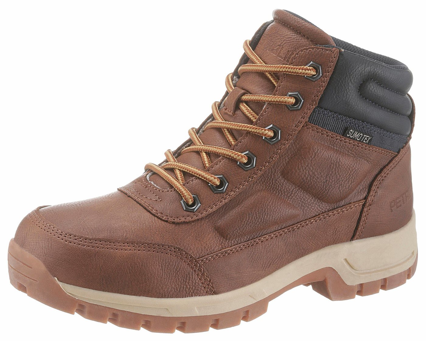 PETROLIO Winterstiefel mit praktischer TEX-Ausstattung | Schuhe > Boots > Winterstiefel | Braun | PETROLIO