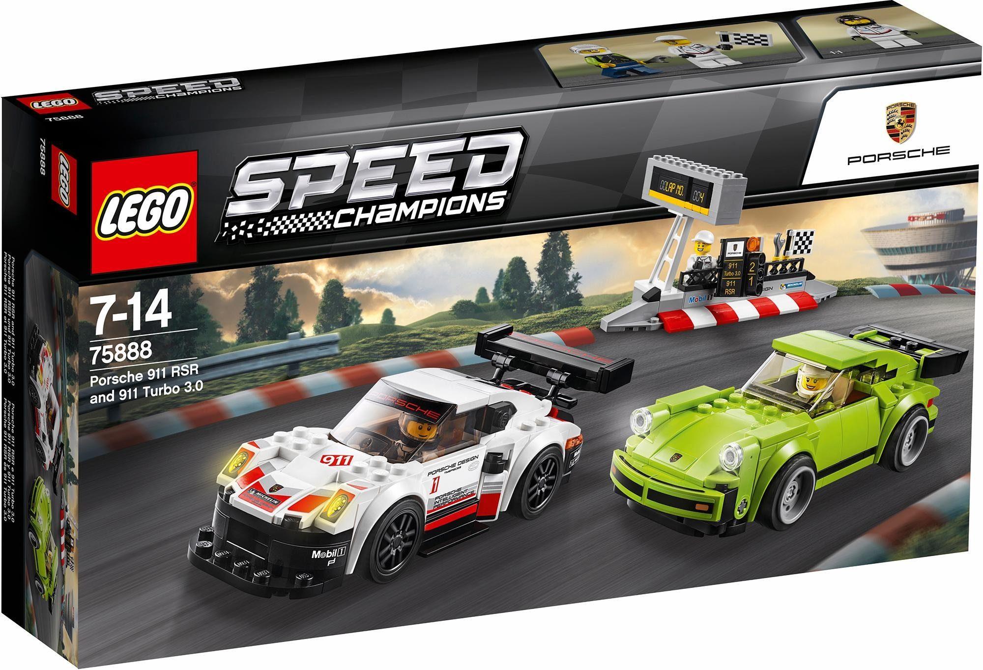 LEGO® Porsche 911 RSR und 911 Turbo 3.0 (75888), »LEGO® Speed Champions«