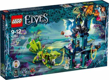 LEGO® Konstruktionsspielsteine »Nocturas Turm und die Rettung des Erdfuchses (41194), LEGO® Elves«, (646 St)