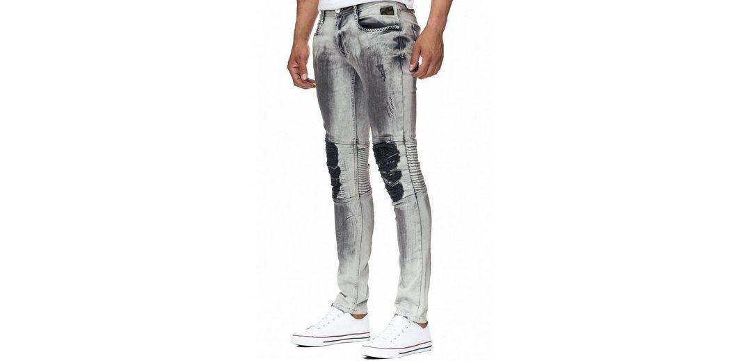 Rusty Neal Jeans im Destroyed-Look Billig Verkauf Besuch Verkauf Online-Shopping RUOup