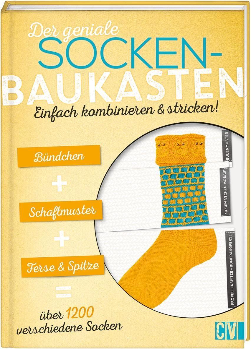 """Buch """"Der geniale Socken-Baukasten"""" 48 Seiten"""