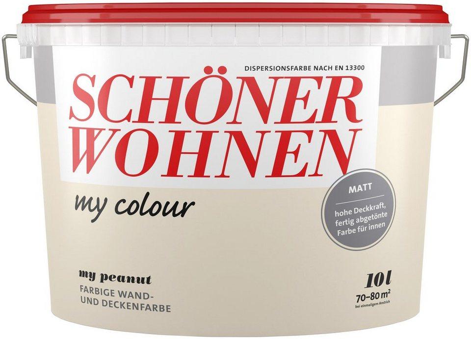 Schöner Wohnen Farbe Wand Und Deckenfarbe My Colour My Peanut