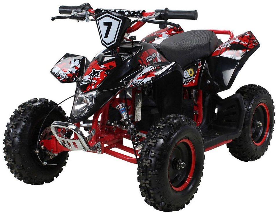 actionbikes motors miniquad »fox xtr« für kinder ab 6