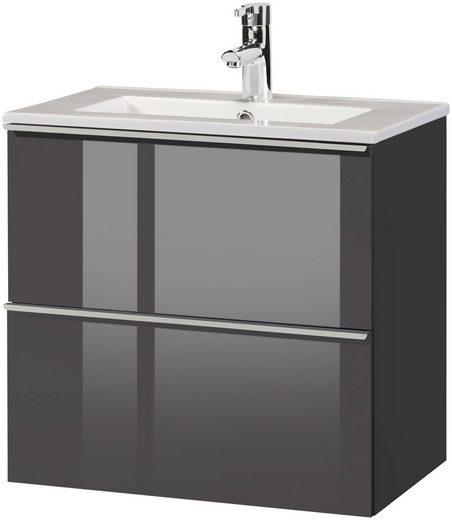 CYGNUS BATH Waschplatz »Malaga 600«, SlimLine, Breite 60 cm, Tiefe 36 cm, (2 tlg.)