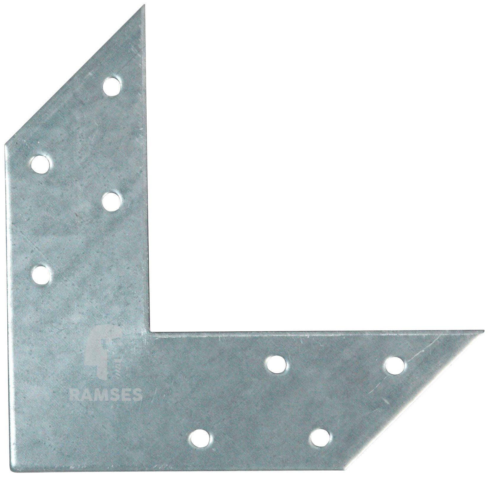 RAMSES Eckwinkel , 170 X 35 X 2 mm Stahl verzinkt 5 Stück