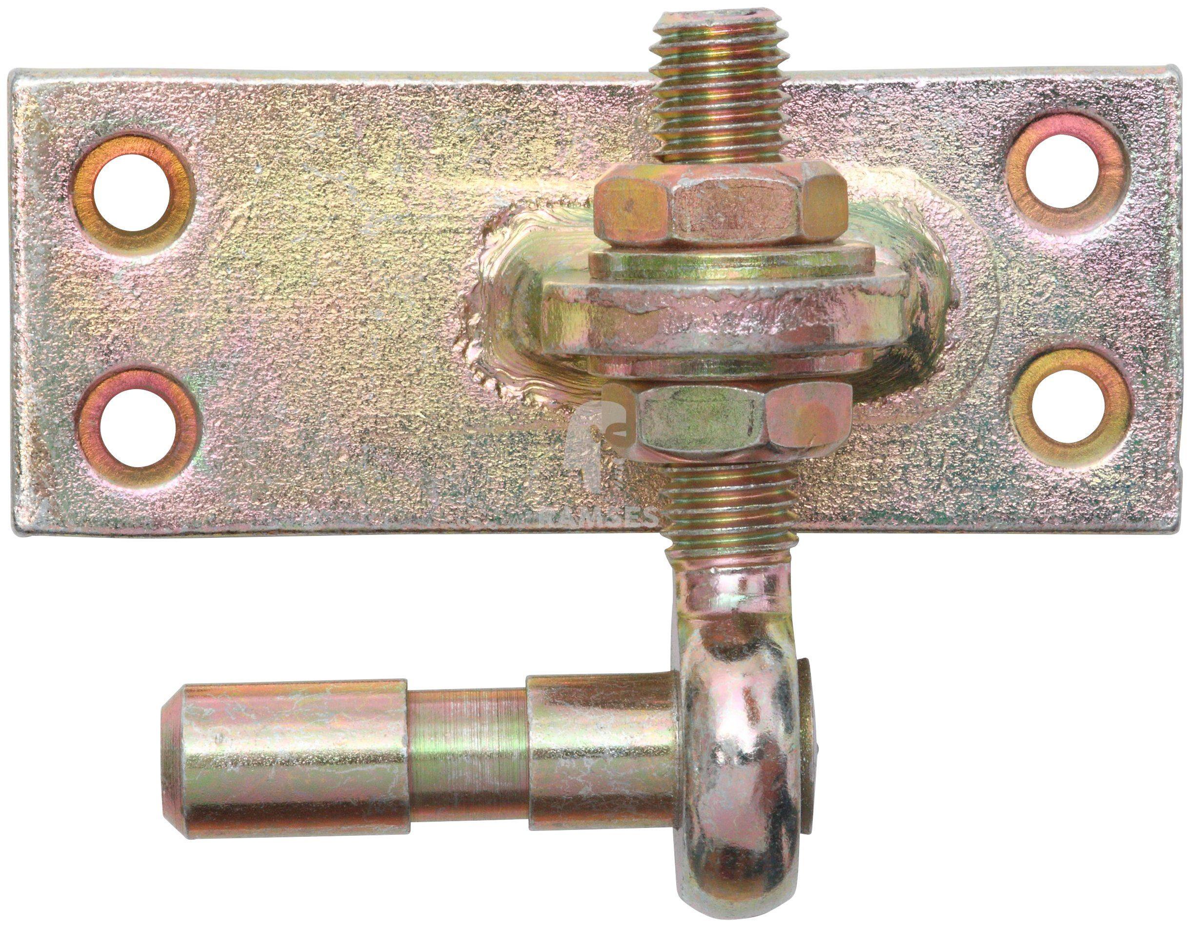 RAMSES Kloben , verstellbar Dorn Ø 13 mm Stahl verzinkt