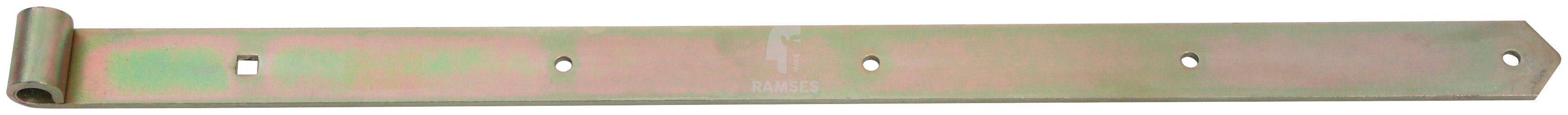 RAMSES Ladenband , schwer für Dorn Ø 16 mm Länge 800 mm Stahl verzinkt