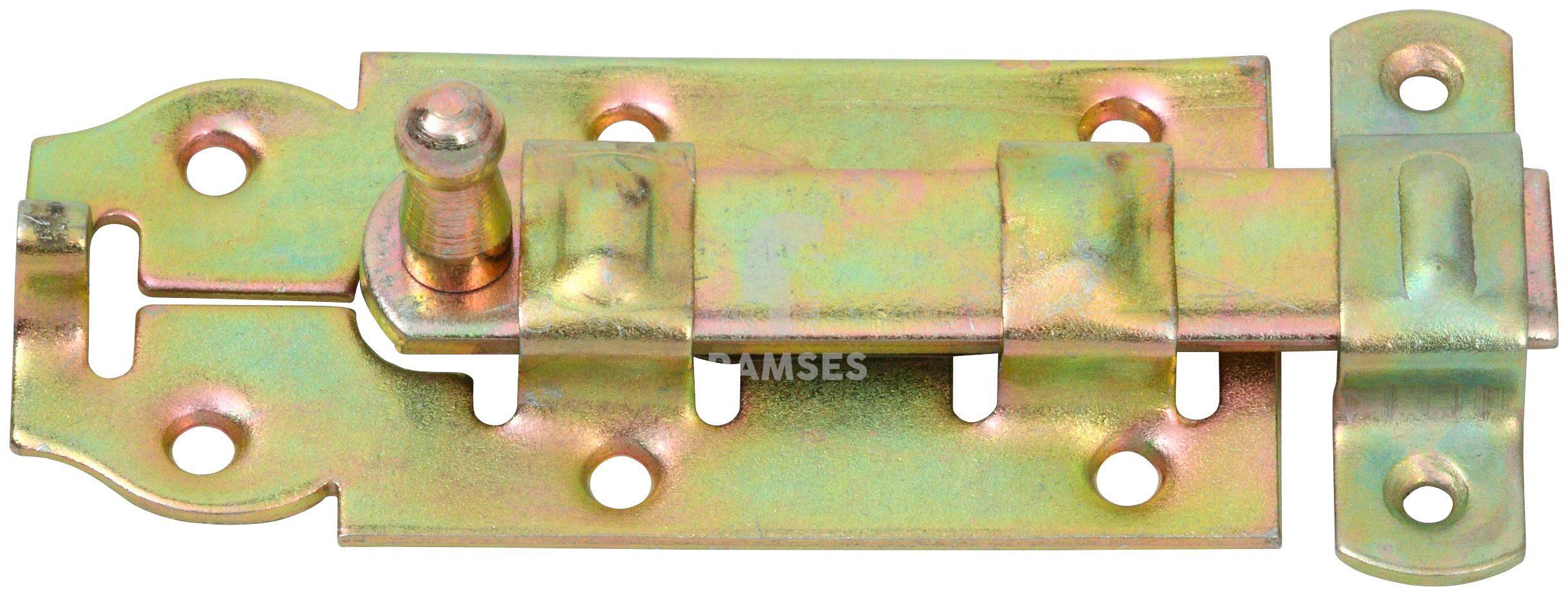 RAMSES Türriegel , gerade 140x55 mm Stahl verzinkt