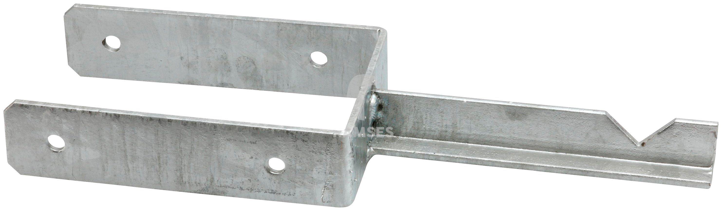 RAMSES Pfostenträger , T-Steindolle 121 X 200 mm Stahl verzinkt