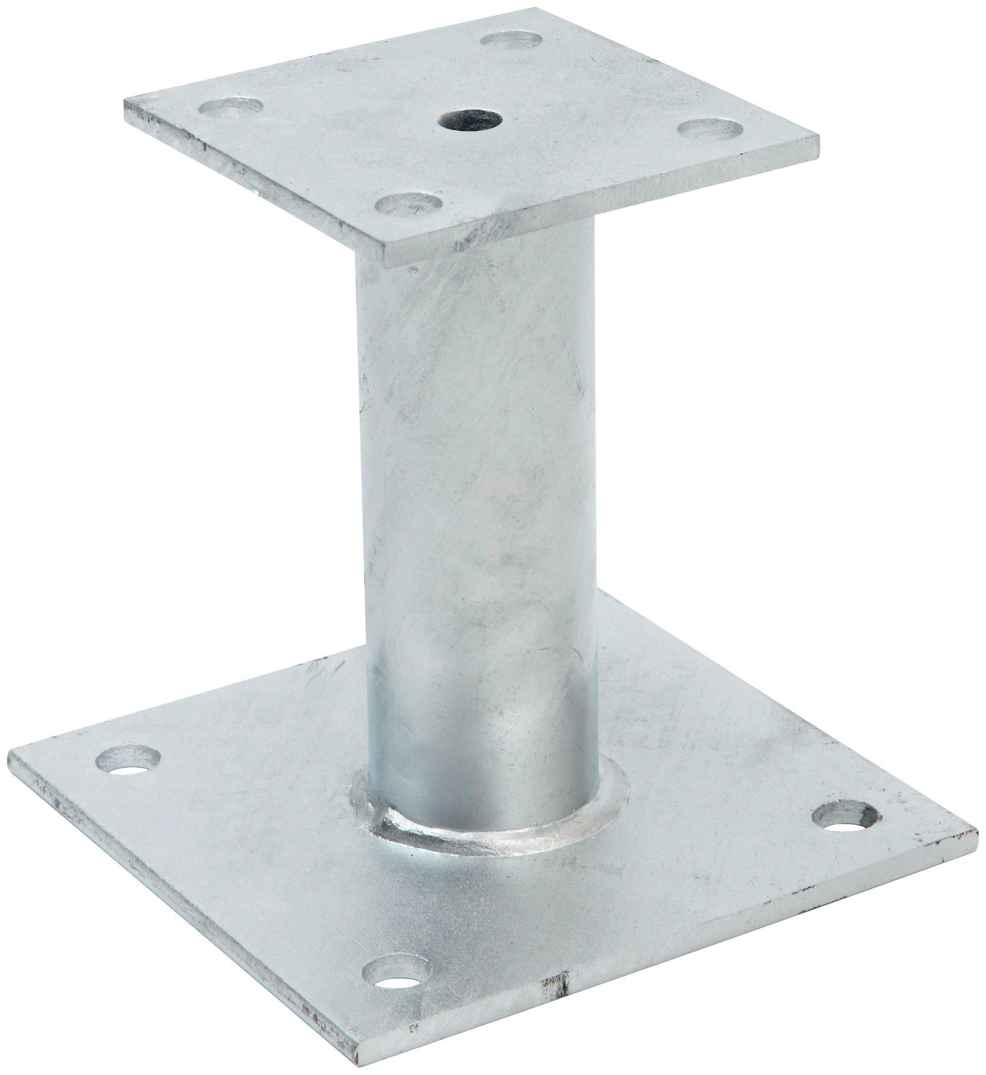 RAMSES Pfostenträger , aufschraubbar 100x150 mm Stahl verzinkt