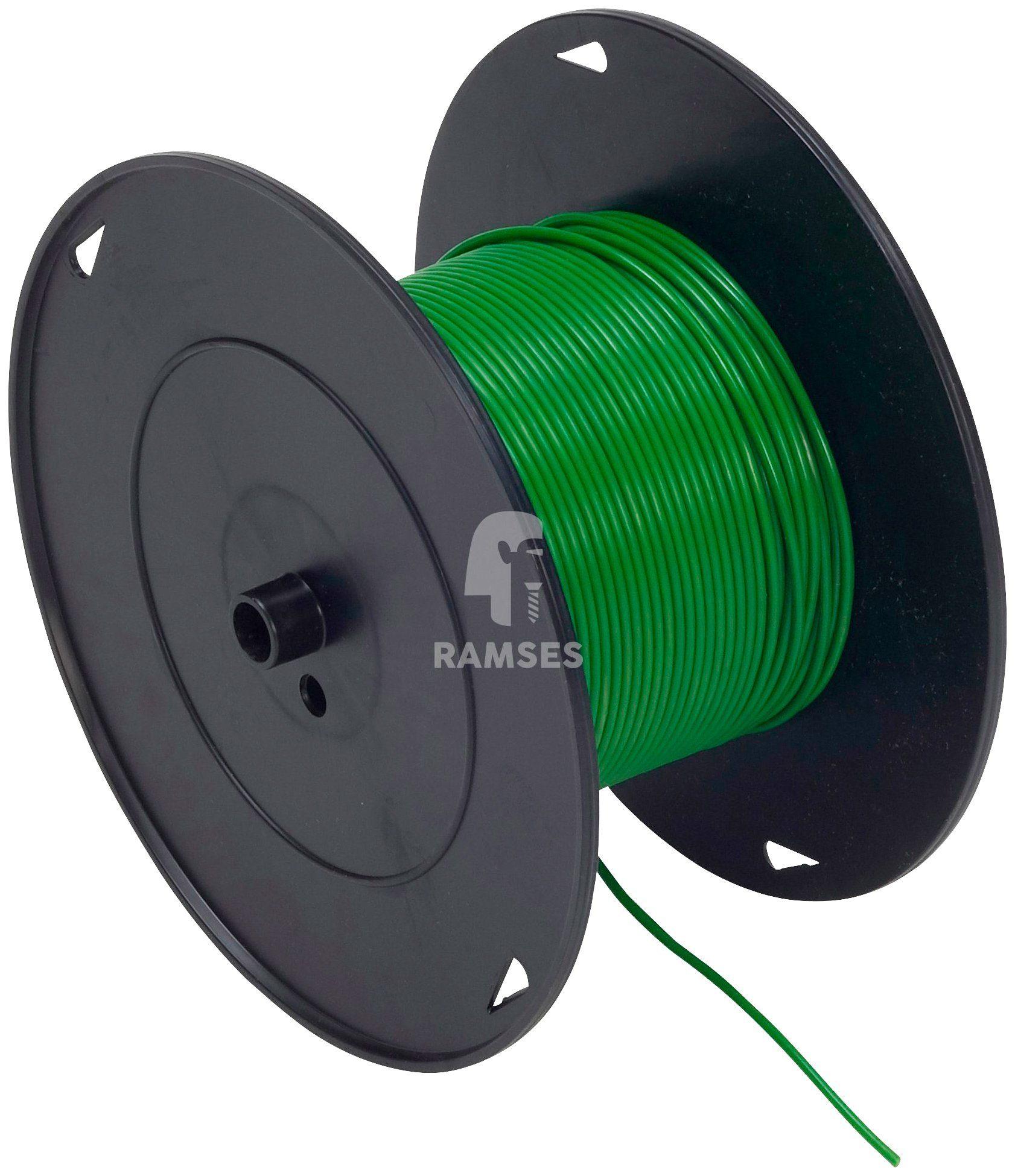 RAMSES Fahrzeugleitung , Grün 1,5 mm² 100 Meter