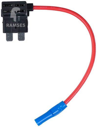 RAMSES Flachstecksicherungshalter , Standard 1,5 mm² 5 Stück
