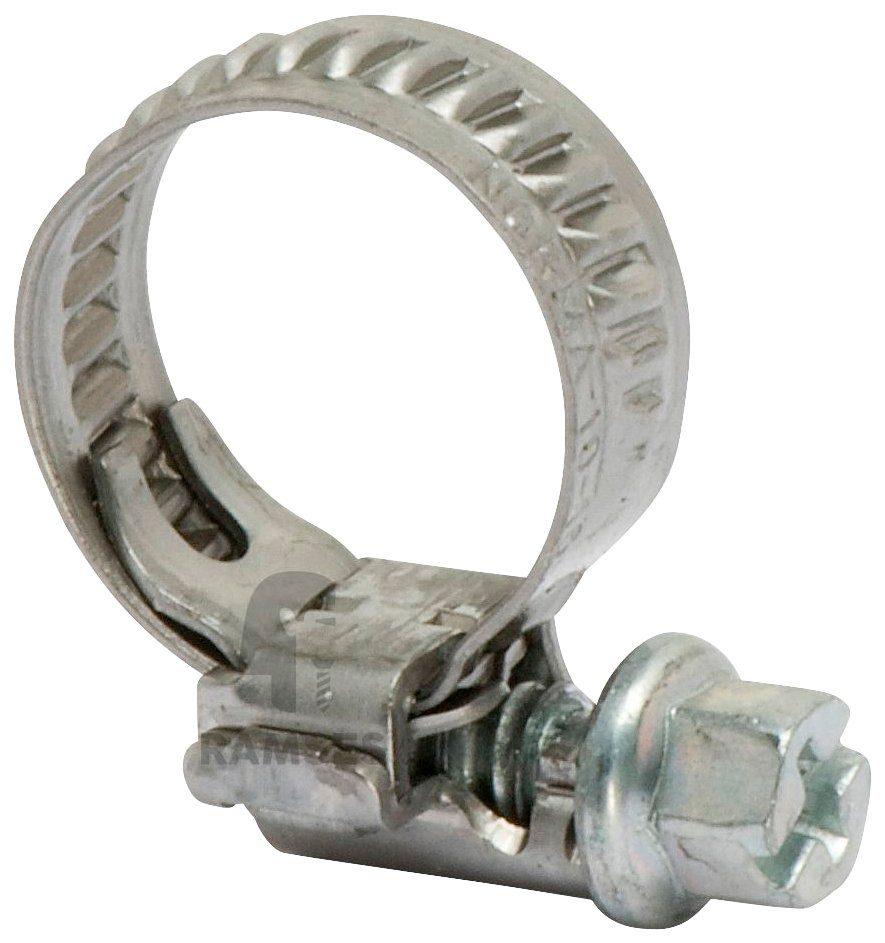 RAMSES Schlauchschelle , Bandbreite 9,0 mm Edelstahl Spannbereich 50-70 mm 25 Stück
