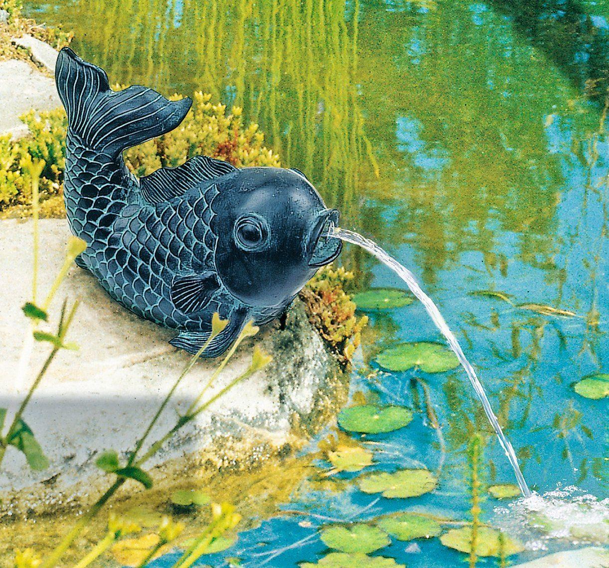 HEISSNER Teichfigur »Fisch«, mit Speierfunktion