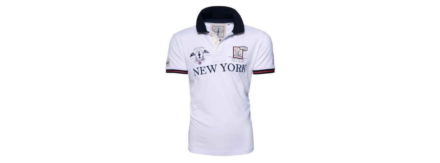 CODE-ZERO Poloshirt AMERICA´S CUP ED.7, Patches