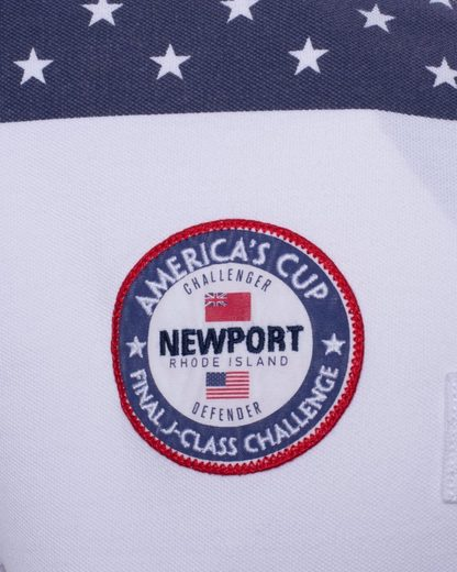 CODE-ZERO Poloshirt AMERICA´S CUP ED.16, Patches