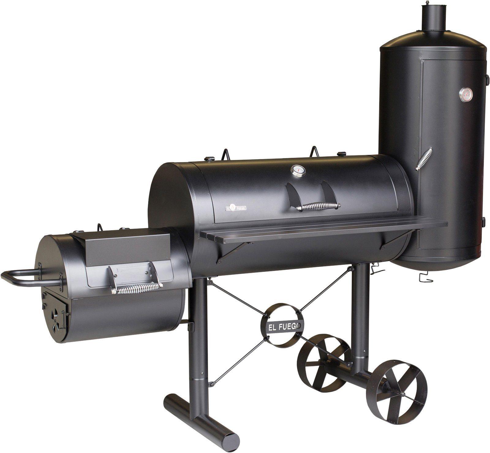 EL FUEGO Smoker »Kiona«, BxTxH: 211x70x173 cm