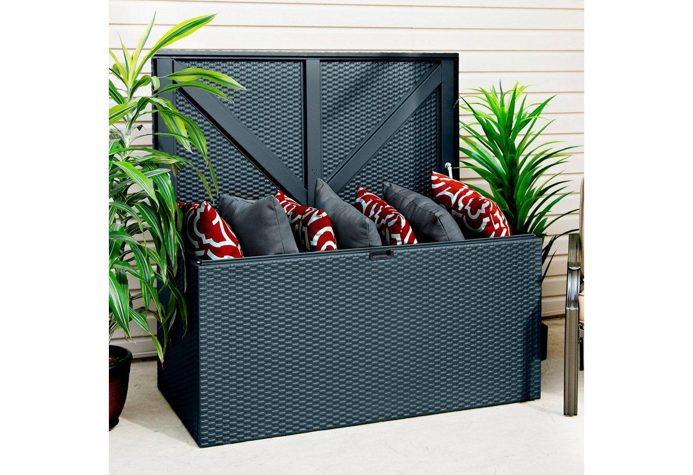 auflagenbox anthrazit machen sie den preisvergleich bei nextag. Black Bedroom Furniture Sets. Home Design Ideas