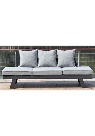 GARDEN PLEASURE Sodo sofa »DONNA« 7-tlg. Aliumininis a...