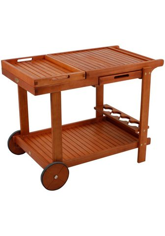 GARDEN PLEASURE Serviravimo vežimėlis »HAYWARD«