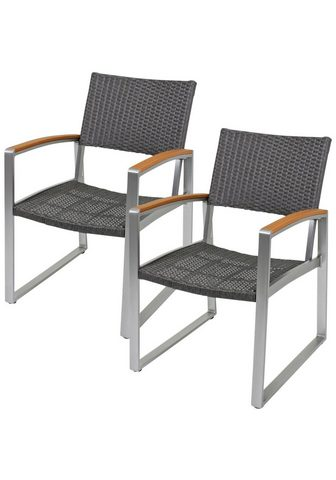 GARDEN PLEASURE Poilsio kėdė »AVA« (2 vnt. rinkinys) P...