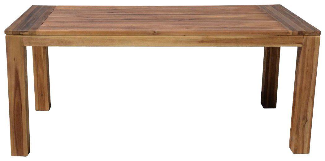 GARDEN PLEASURE Gartentisch »TOPEKA«, Akazienholz, 180x90 cm, braun