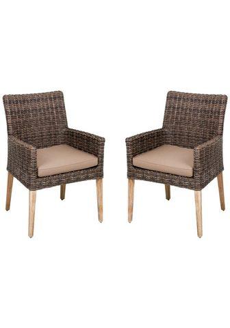 GARDEN PLEASURE Poilsio kėdė »NORVELL« (2 vnt. rinkiny...