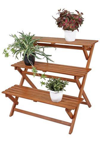 GARDEN PLEASURE Dekoracija klappbar Eukalyptusholz bra...